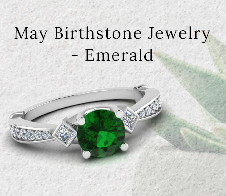 May Birthstone Jewelry – Emerald