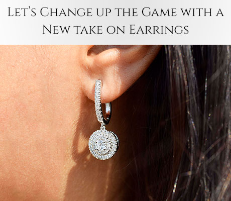 Let's Change Up The Game With A New Take On Earrings