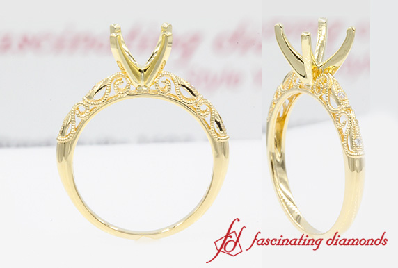 Filigree Ring Setting