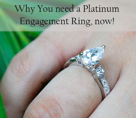 Why You Need A Platinum Engagement Ring, Now!