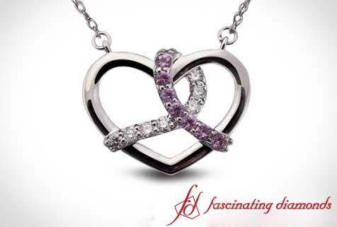 Interlocked Heart Pendant