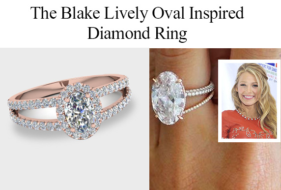 The Blake Lively Oval Cut Diamond Ring