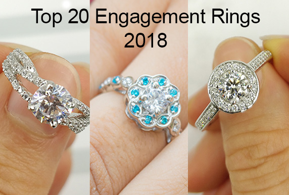 Top 20 Engagement Rings 2018