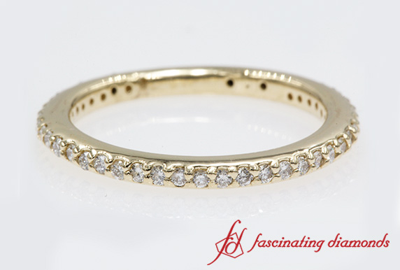 Simple Diamond Band