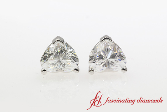1 Ctw. Diamond Stud Earring