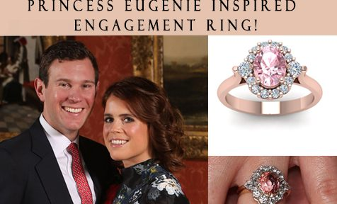 Princess Eugenie Inspired Engagement Ring!