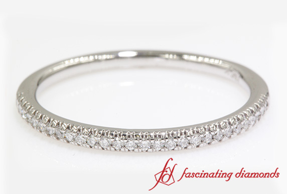Thin Diamond Womens Band