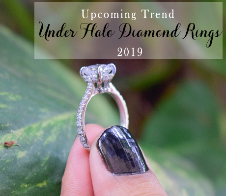 Under Halo Diamond Rings 2019