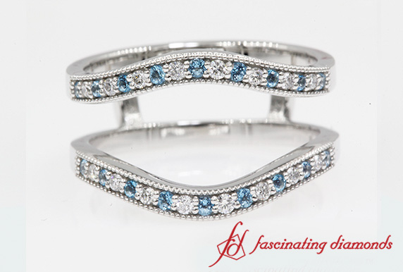 Blue Topaz Ring Guard