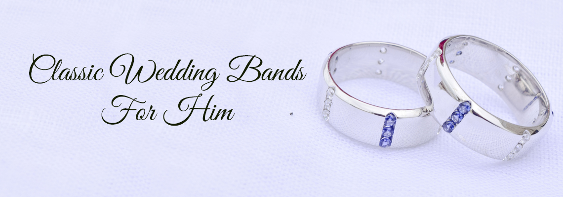 Classic Mens Wedding Band