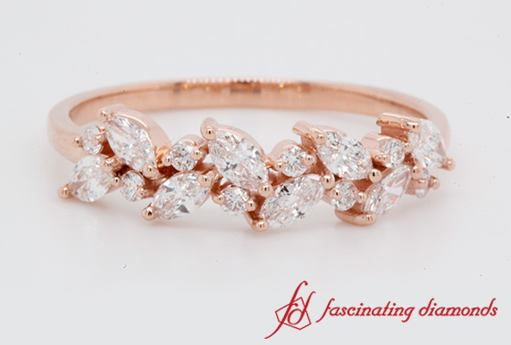 0.48 Ct. Rose Gold Wedding Ring