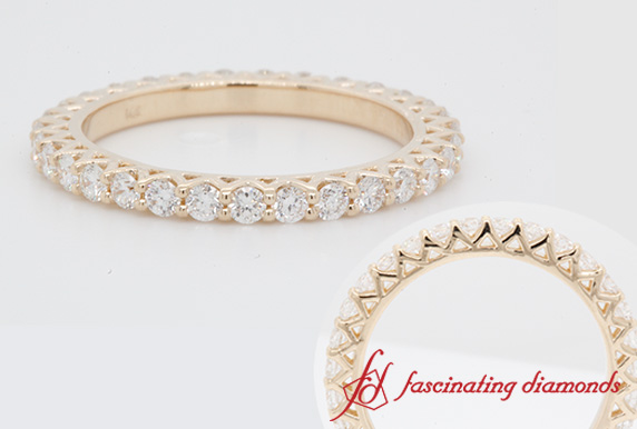 1 Ct. Diamond Eternity Wedding Band