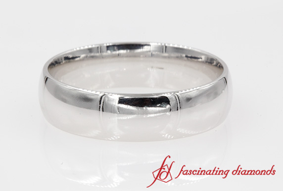 6mm Glossy Comfort Fit Band
