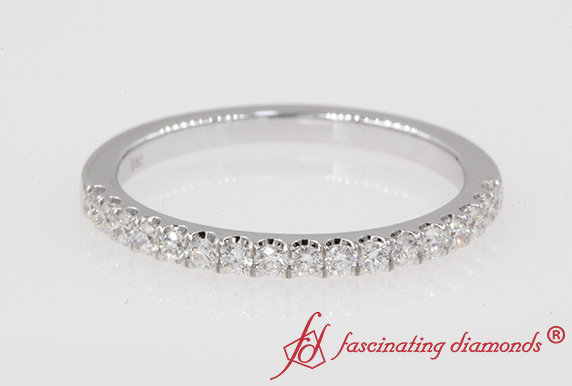 Womens Thin Diamond Band