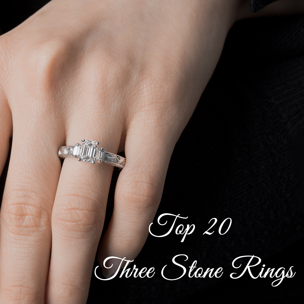top20threestoneengagementring