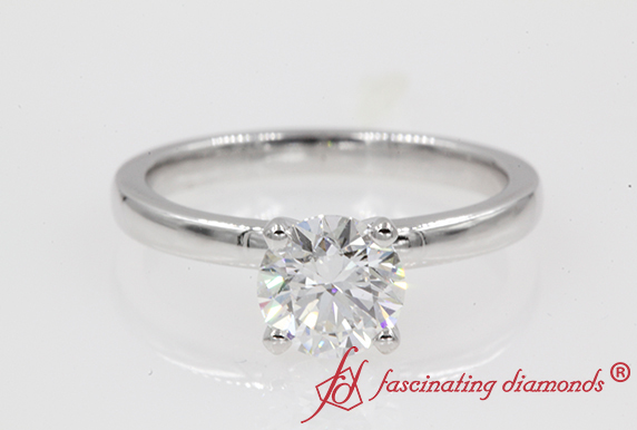 1 Carat Diamond Solitaire Ring