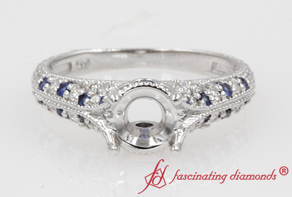 Vintage Diamond Ring Setting