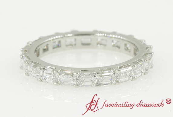 3 Carat Horizontal Diamond Band