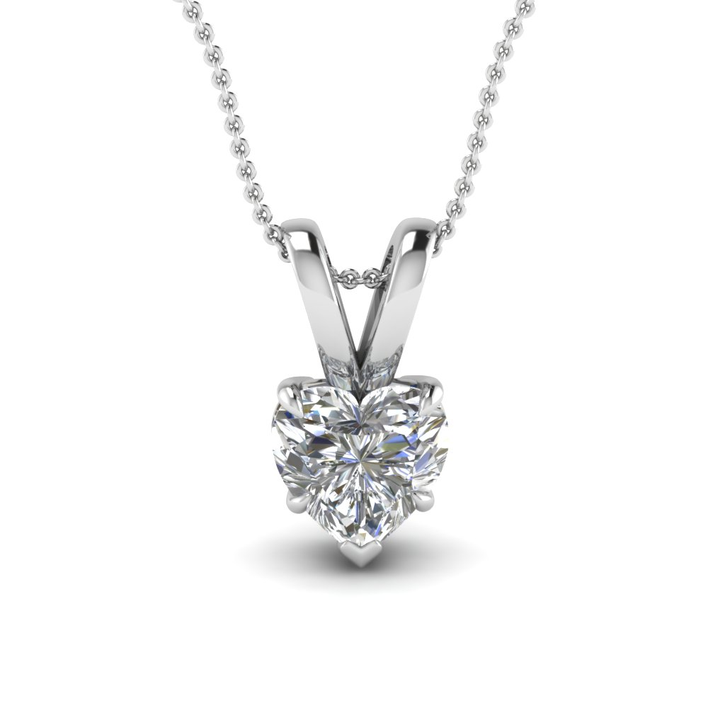 Bewitched Heart 5 Prong Pendant