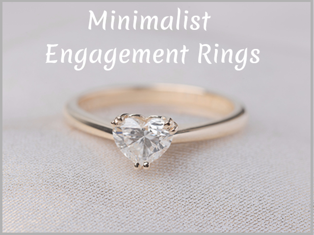 22 Minimalist Engagement Rings For A Bride Who Like To Wear Her Ring Everyday