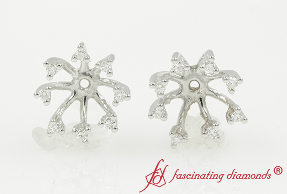 Halo Earring Jackets For Studs