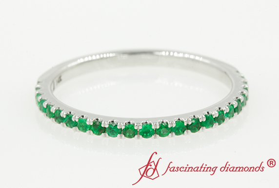 Petite Women Emerald Band