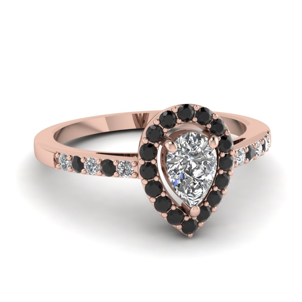 Rose Gold Delicate Diamond Rings