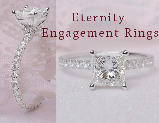 Eternity Engagement Rings