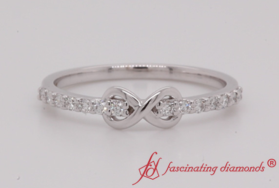 Infinity Promise Diamond Ring