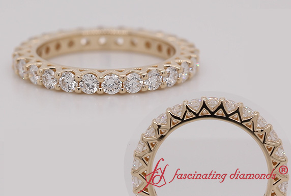 1.56 Ct. Round Diamond Eternity Band