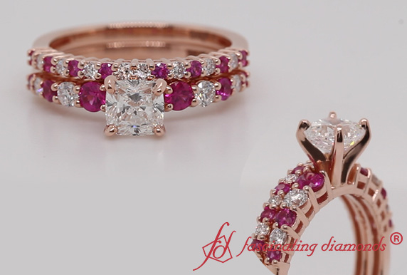 Graduated Bridal Ring Set