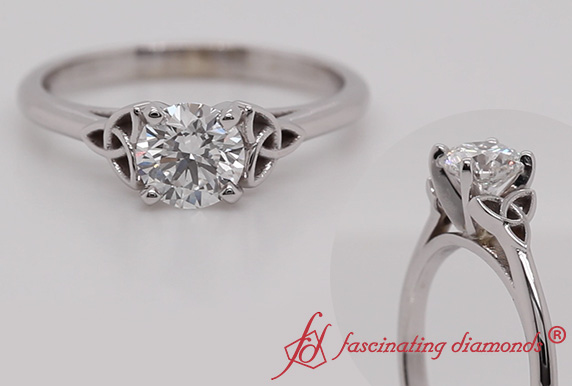 Irish Lab Grown Diamond Solitaire Ring