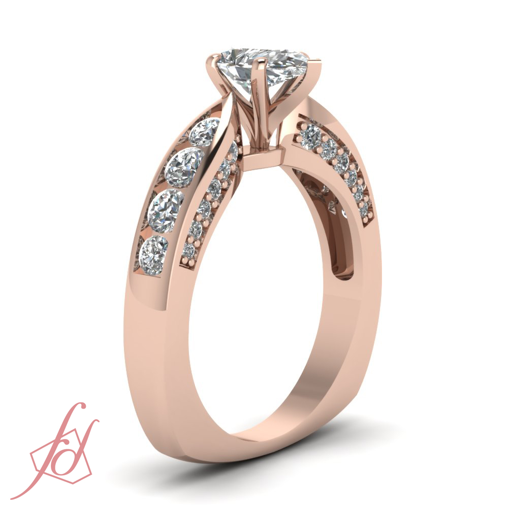 1 50 ct pear shaped cut engagement ring