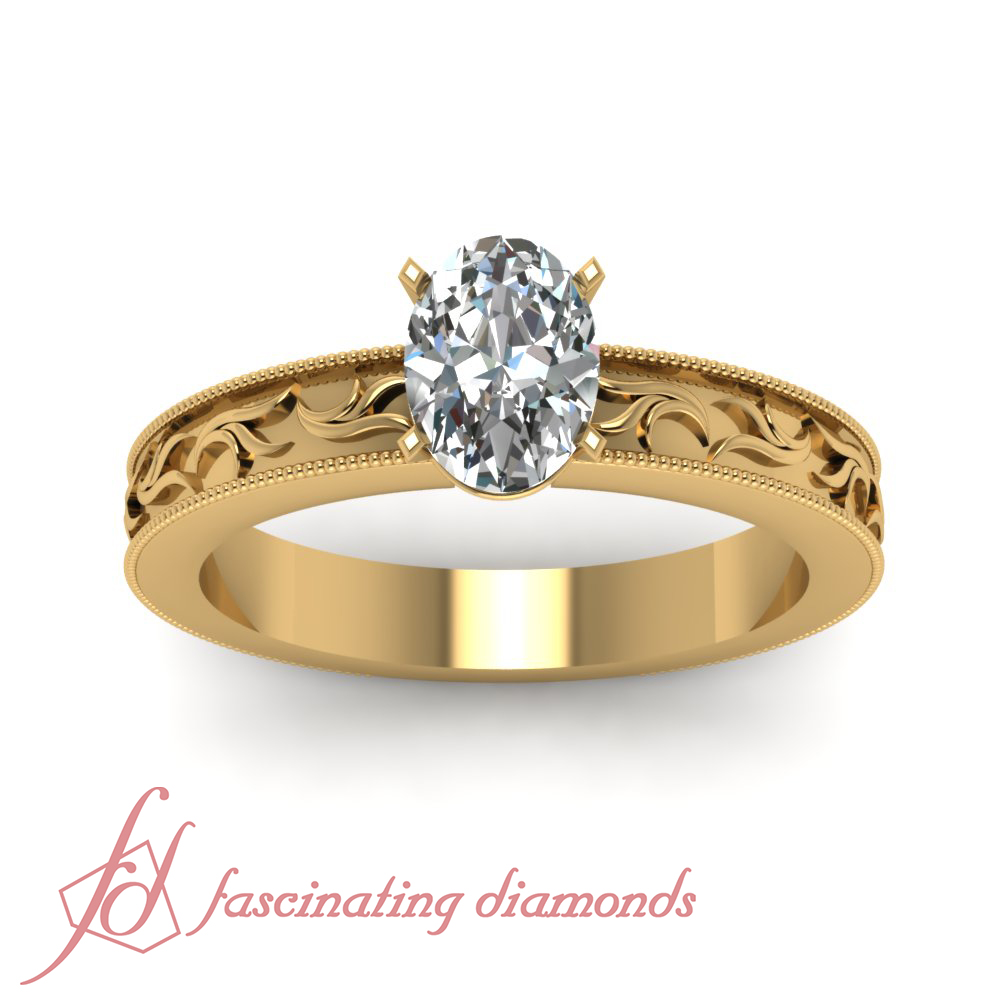 1 To 15 Carats Diamond Oval Engagement Rings  Overstockcom